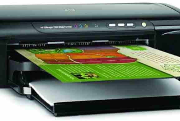 Отпечаток на принтере