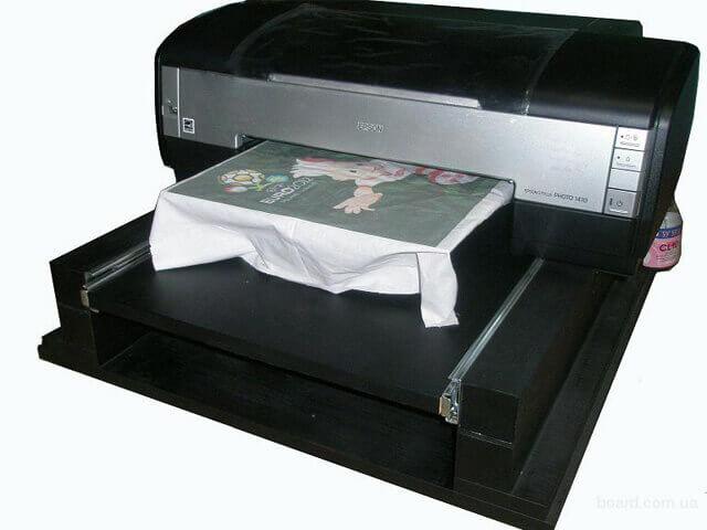 Текстильный принтер для дома