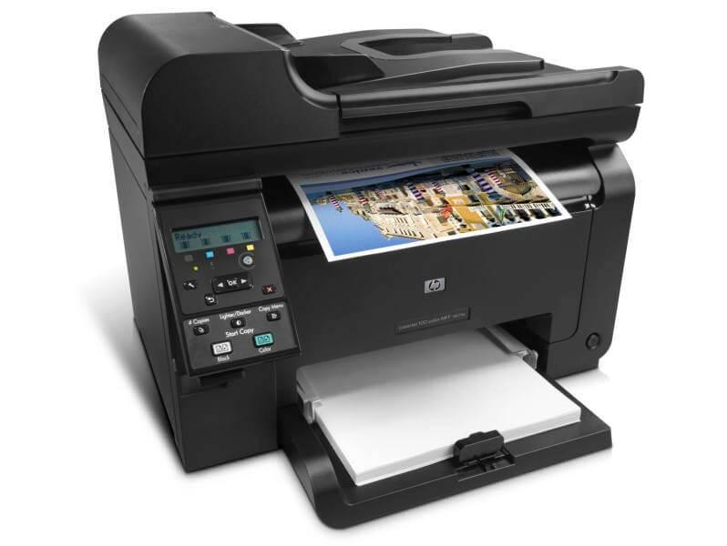 HP Color LaserJet Pro MFP M177fw драйвер скачать и инструкция