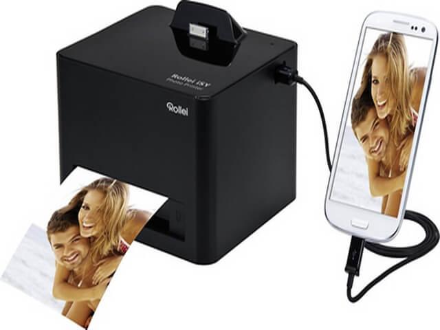 Печать фото с телефона на принтере